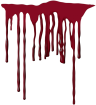 dark flowing blood free png download