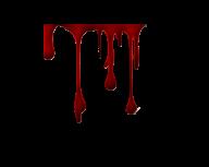 dark red flowing blood free png download