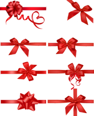 diferent types red ribbon free png download