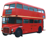 double decker bus png download free