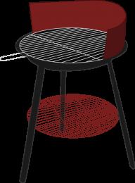 drawn grill image hd