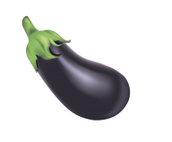 Eggplant Clipart Image