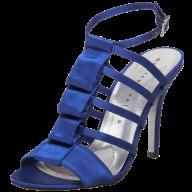 fancy blue  heelshoe free png download