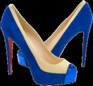 fancy blue pair heelshoe free png download
