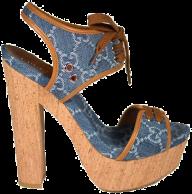 fancy leatrher heelshoe free png download