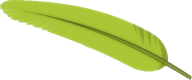 feather green logo like png image