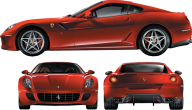 Ferrari all view png image download