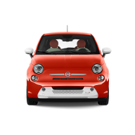 Fiat Front View Red Color car Png