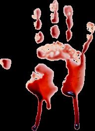fingered flowing blood free png download