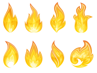 Flame Free PNG Image Download 23
