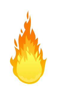 Flame Free PNG Image Download 30