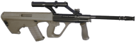 free assault rifle download png