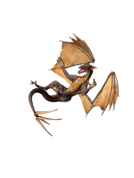 free dragon 3d art