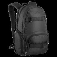 full black backpack free png download (2)