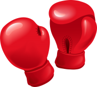 full red boxing gloves clipart  free png download