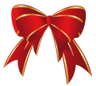 golden red ribbon free clipart download
