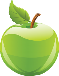 Green Apple icon Png