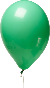 Green Balloon Png