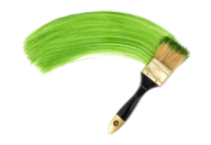 green brush free image download