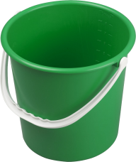 GREEN BUCKET FREE PNG DOWNLOAD