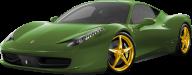 Green Ferrari Png Image Download