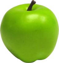 Greenish Round Apple Png
