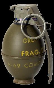 Grenade Free PNG Image Download 18