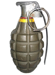 Grenade Free PNG Image Download 23