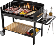 grill with stick png