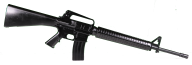 hd assault rifle download png