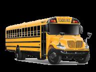 HD school bus png