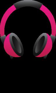 Head Phones PNG Free Image Download 14