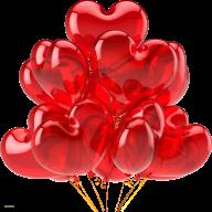 Heart Shape Balloon Png