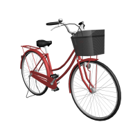 ladies bicycle free clipart download