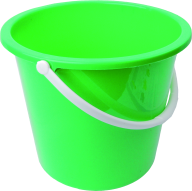LITE GREEN BUCKET FREE PNG DOWNLOAD