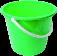 LITE GREEN BUCKET FREE PNG DOWNLOAD
