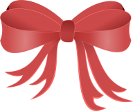 lite red ribbon free clipart download
