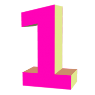 Number 1 PNG Free Download 14