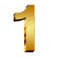 Number 1 PNG Free Download 4