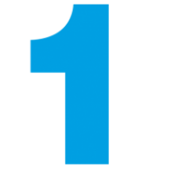 Number 1 PNG Free Download 8