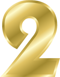 Number 2 PNG Free Download 11