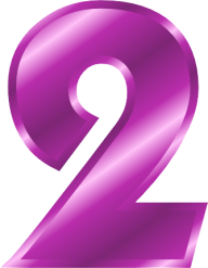 Number 2 PNG Free Download 12