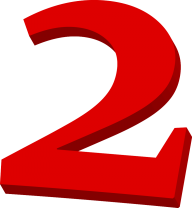 Number 2 PNG Free Download 13