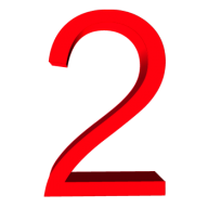 Number 2 PNG Free Download 22