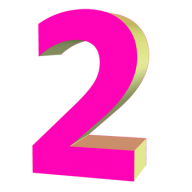 Number 2 PNG Free Download 24