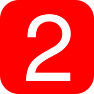 Number 2 PNG Free Download 27