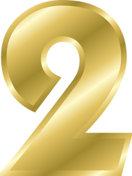 Number 2 PNG Free Download 30