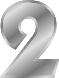 Number 2 PNG Free Download 42