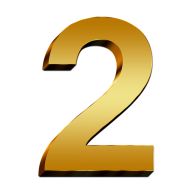 Number 2 PNG Free Download 6