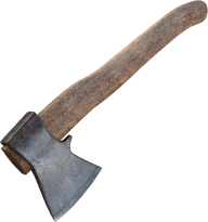 Old Wooden Axe
